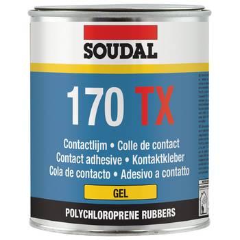 mastic mastics Gel contact adhésive 170 TX - SOUDAL