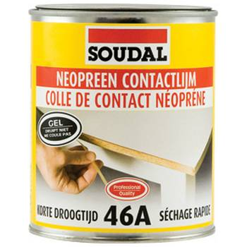 colles colle néoprene soudal 46a
