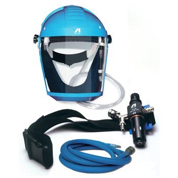 masque à adduction d'air AIRFED 2010 Masque Airfed à visière complet - ANEST IWATA