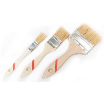pinceaux jetables bois industrie matériel application pinceau jetable
