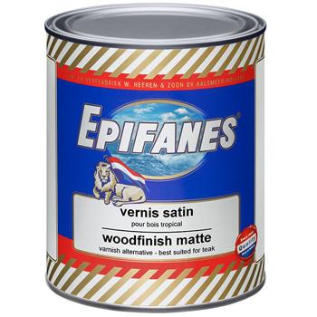 Vernis satin Woodfinish sans filtre UV EPIFANES