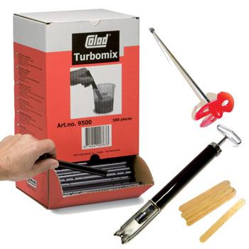 mélangeur mélangeurs Batons de mélange Colad Turbomix