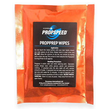 Propprep Wipes protection des hélices propspeed